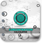 Concentration Calculator